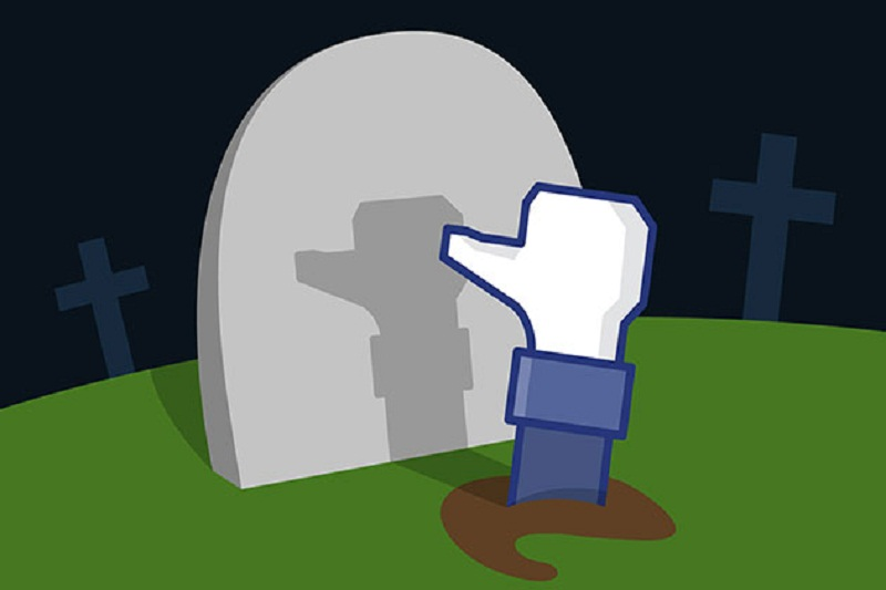 Account facebook di un utente deceduto
